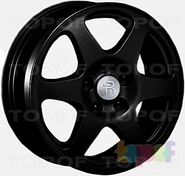 Колесные диски Replay (Replica LS) Ki26. Цвет - черный матовый