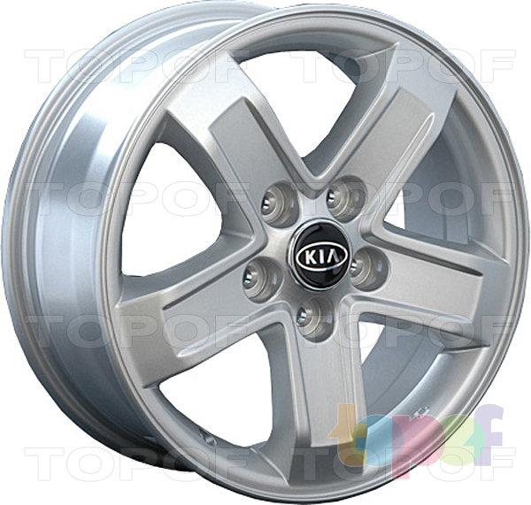 Колесные диски Replay (Replica LS) Ki30. Серебряный