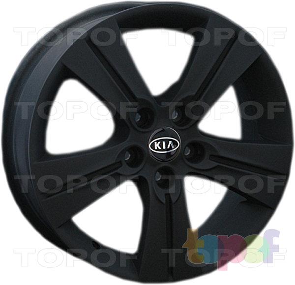 Колесные диски Replay (Replica LS) Ki36. Цвет - черный матовый