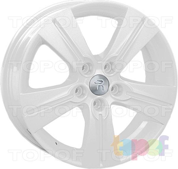 Колесные диски Replay (Replica LS) Ki36. Цвет - белый