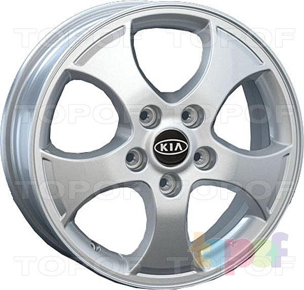 Колесные диски Replay (Replica LS) Ki47. Цвет - серебряный