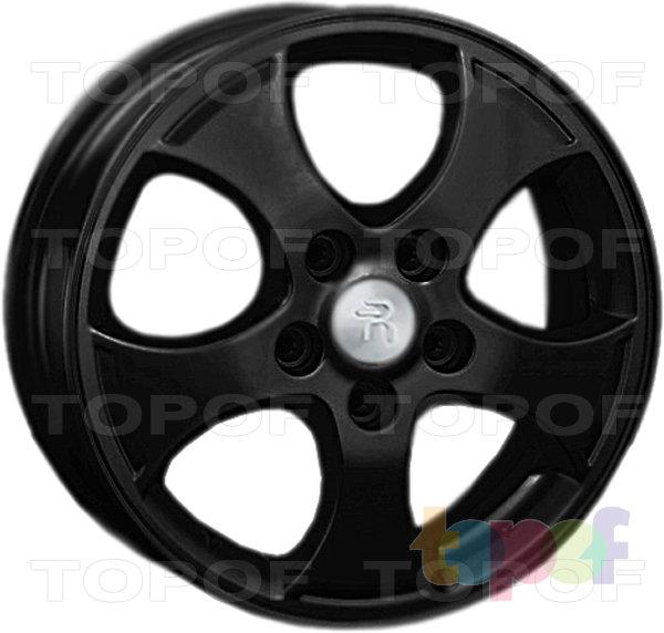 Колесные диски Replay (Replica LS) Ki47. Цвет - черный матовый