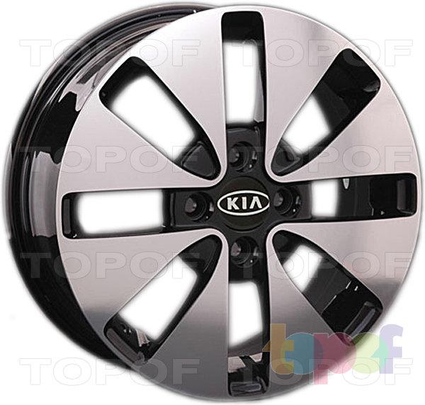 Колесные диски Replay (Replica LS) Ki52. Цвет BKF