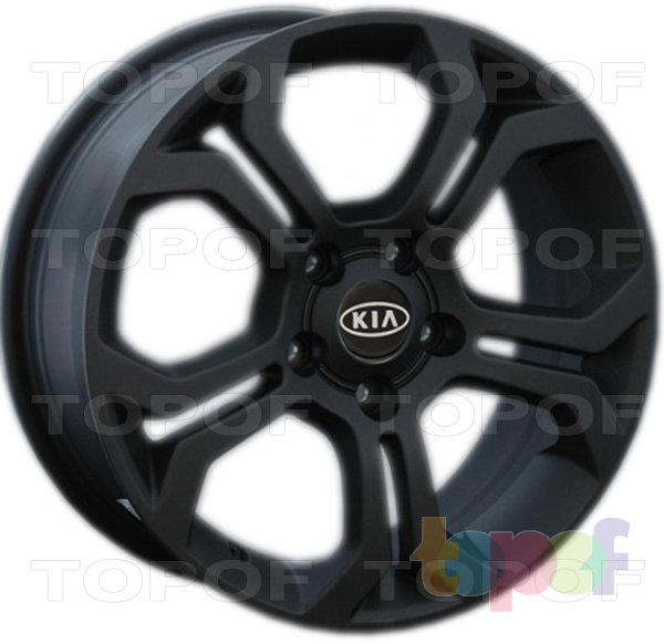 Колесные диски Replay (Replica LS) Ki61. Цвет - черный матовый