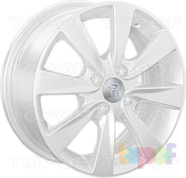 Колесные диски Replay (Replica LS) Ki79. Цвет - белый