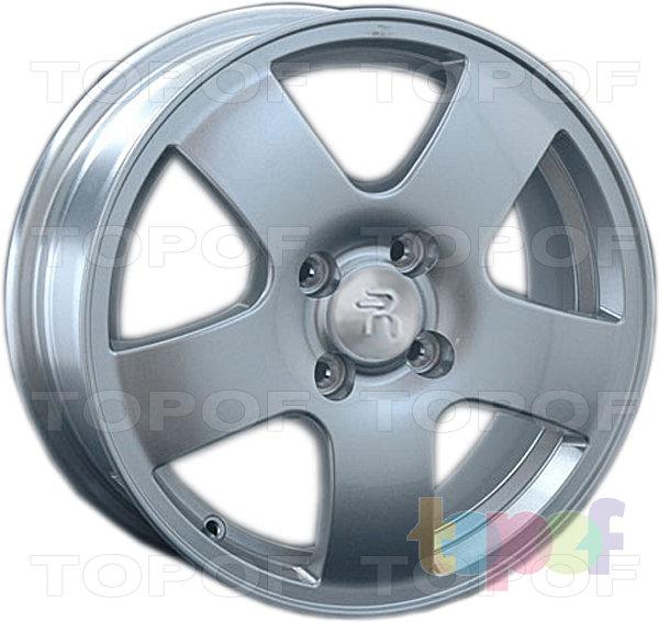 Колесные диски Replay (Replica LS) Ki85. Цвет - серебряный