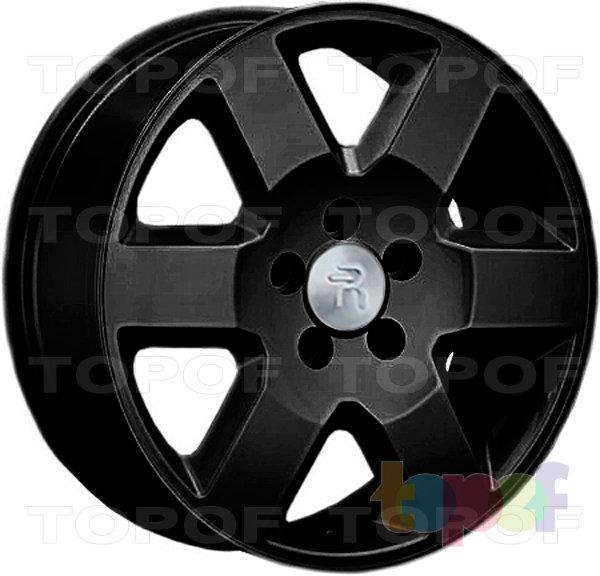 Колесные диски Replay (Replica LS) LR11. Цвет - черный матовый