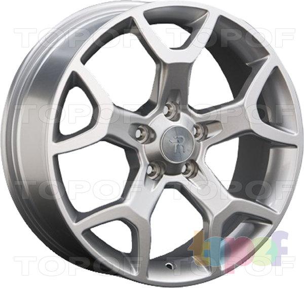 Колесные диски Replay (Replica LS) LR25. Цвет - серебряный