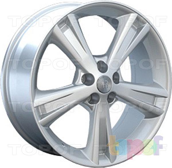 Колесные диски Replay (Replica LS) LX11. Цвет - серебряный