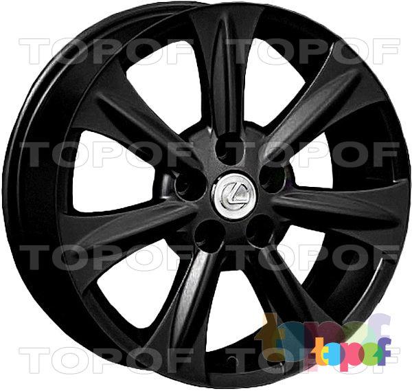 Колесные диски Replay (Replica LS) LX15. Цвет матовый черный