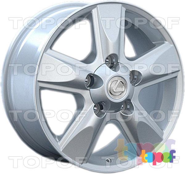 Колесные диски Replay (Replica LS) LX22. Цвет - серебряный