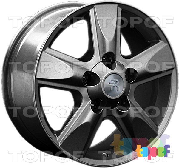 Колесные диски Replay (Replica LS) LX22. Цвет GM