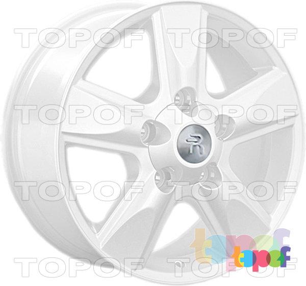 Колесные диски Replay (Replica LS) LX22. Цвет - белый