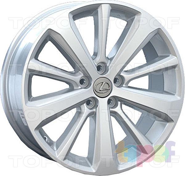 Колесные диски Replay (Replica LS) LX24. Цвет - серебряный