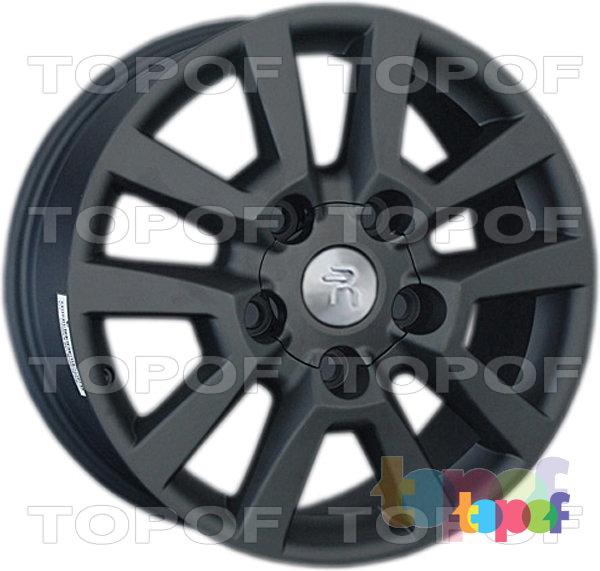 Колесные диски Replay (Replica LS) LX40. Цвет - черный матовый