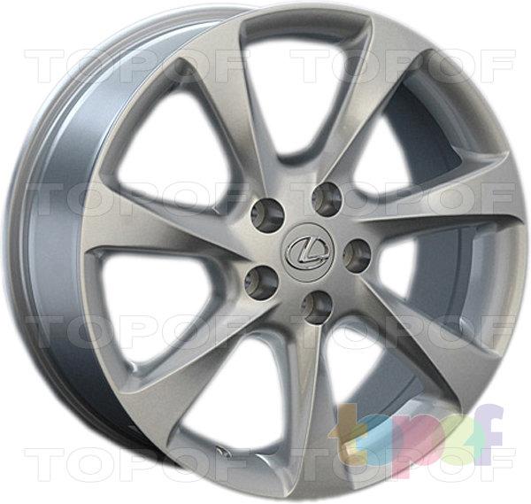 Колесные диски Replay (Replica LS) LX42. Цвет - серебряный