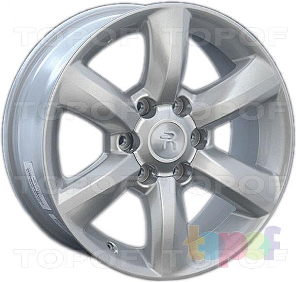 Колесные диски Replay (Replica LS) LX50. Цвет - серебряный