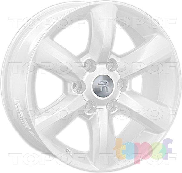 Колесные диски Replay (Replica LS) LX50. Цвет - белый