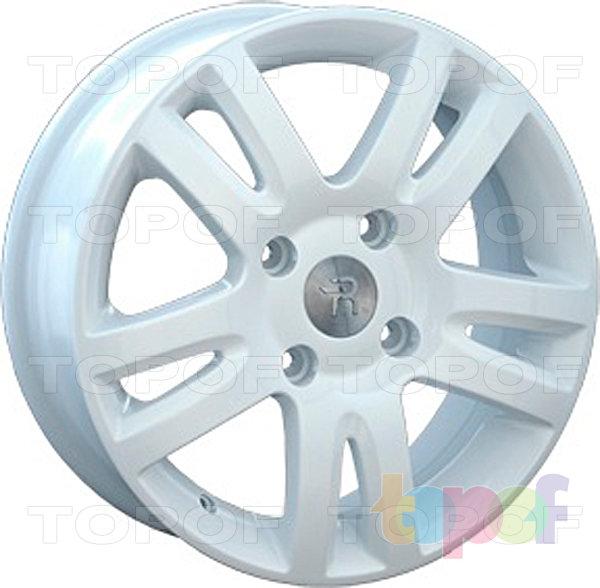 Колесные диски Replay (Replica LS) Mi16. цвет белый