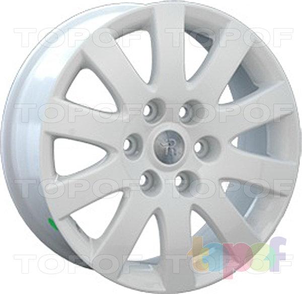 Колесные диски Replay (Replica LS) Mi20. Цвет белый