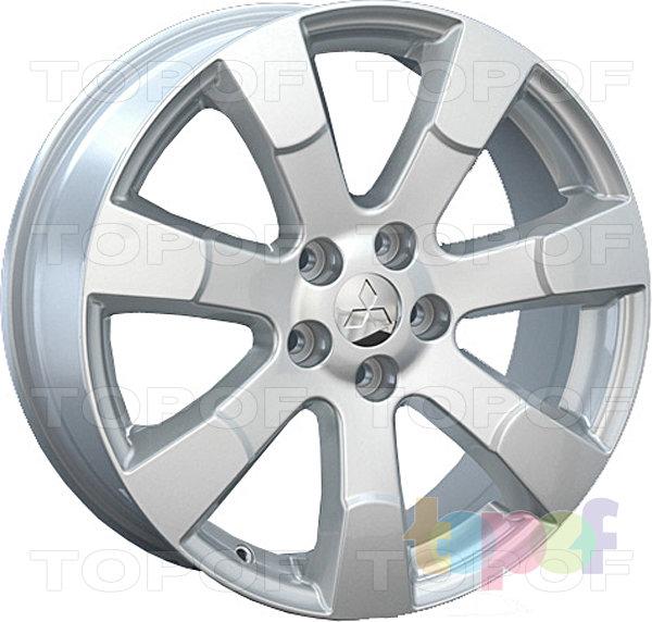 Колесные диски Replay (Replica LS) Mi21. Цвет - серебряный