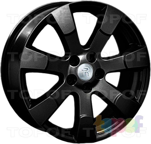 Колесные диски Replay (Replica LS) Mi21. Цвет - черный матовый