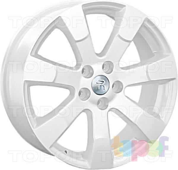 Колесные диски Replay (Replica LS) Mi21. Цвет - белый