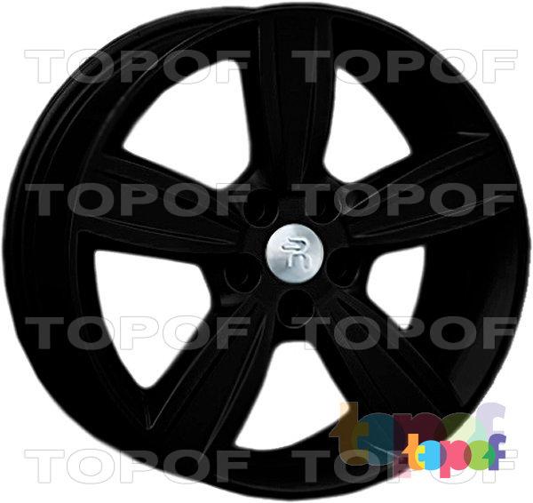 Колесные диски Replay (Replica LS) Mi24. Цвет - черный матовый