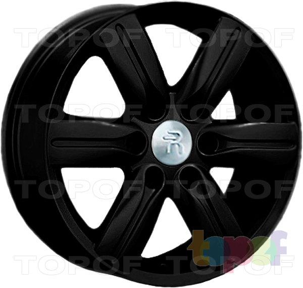 Колесные диски Replay (Replica LS) Mi27. Цвет - черный матовый