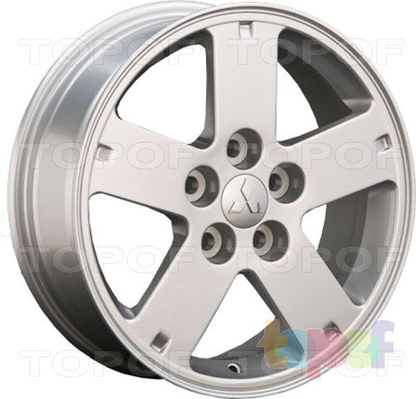 Колесные диски Replay (Replica LS) Mi32. Цвет серебряный