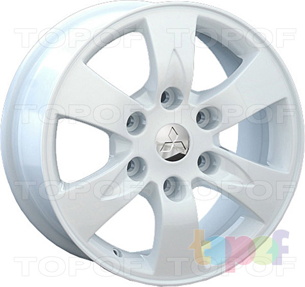 Колесные диски Replay (Replica LS) Mi33. цвет белый
