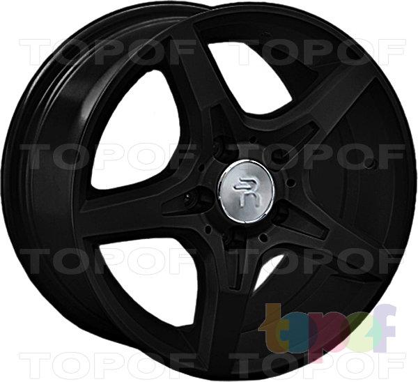 Колесные диски Replay (Replica LS) MR106 (MB106). Цвет - черный матовый