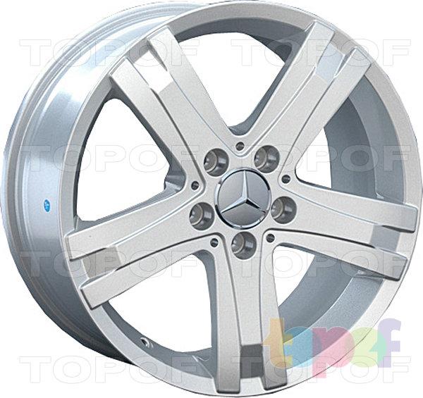 Колесные диски Replay (Replica LS) MR83 (MB83). Цвет - серебряный