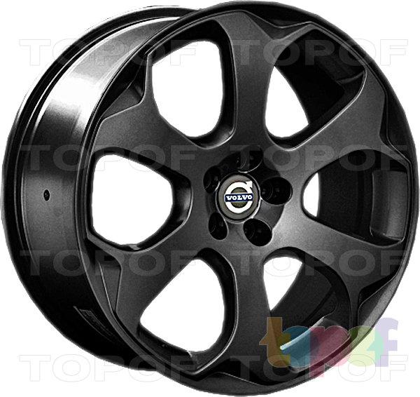 Колесные диски Replay (Replica LS) V10. Цвет матовый черный