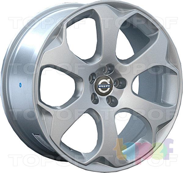 Колесные диски Replay (Replica LS) V10. Цвет серебряный