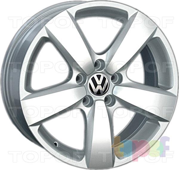 Колесные диски Replay (Replica LS) VV112 (VW112). Silver (серебряный) полированный
