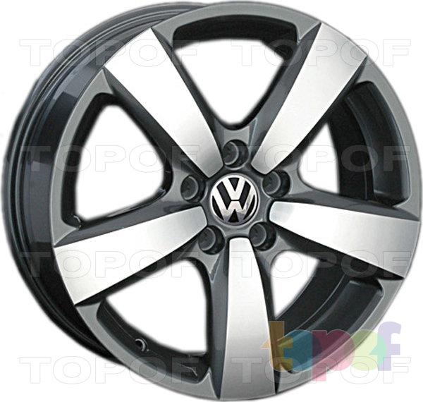 Колесные диски Replay (Replica LS) VV112 (VW112). Gun Metal полированный