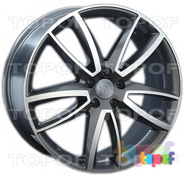 Колесные диски Replay (Replica LS) VV153 (VW153). Цвет колесного диска - GMF (Темно-серебристый полированный)