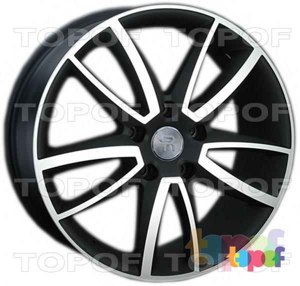 Колесные диски Replay (Replica LS) VV153 (VW153). Цвет колесного диска - MBF (Черный с дымкой полированный)