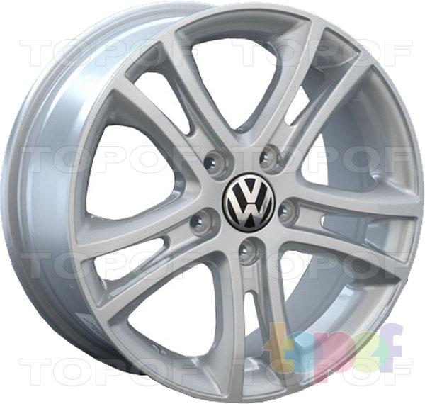 Колесные диски Replay (Replica LS) VV27 (VW27). Цвет - серебряный