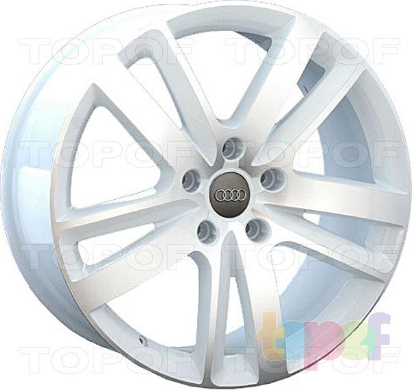 Колесные диски Replay (Replica LS) A67. Белый с полированной лицевой стороной