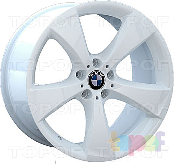 Колесные диски Replay (Replica LS) B74. White - белый цвет