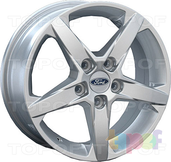 Колесные диски Replay (Replica LS) FD36. Цвет Silver (серебряный)