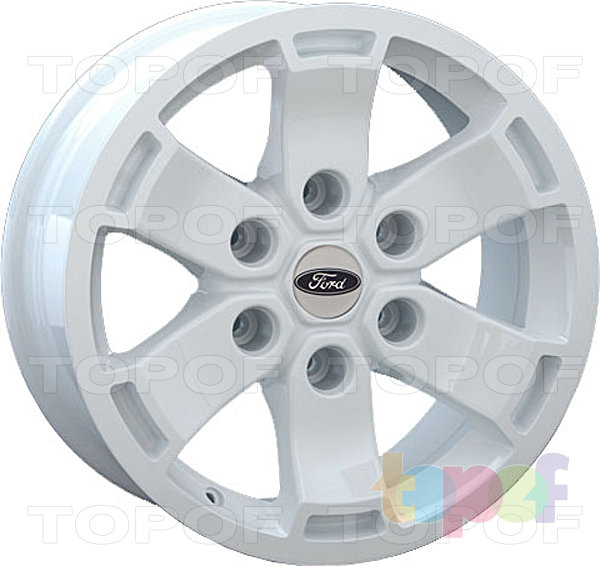 Колесные диски Replay (Replica LS) FD39. White (белый цвет)