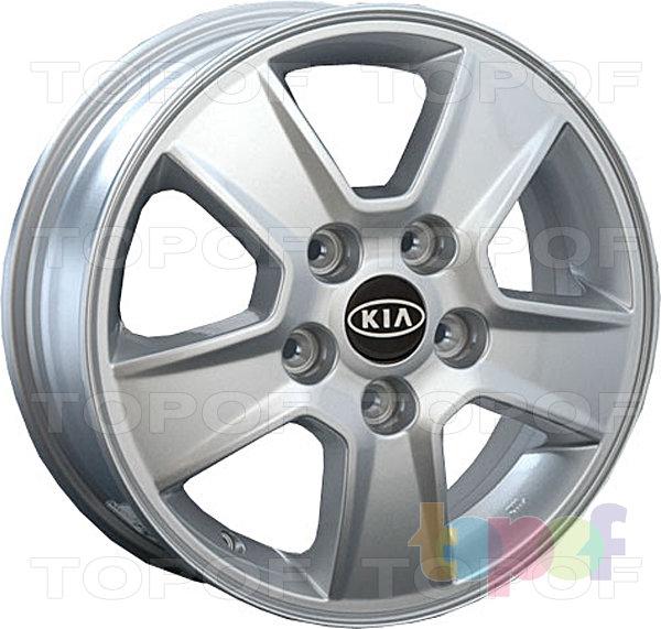 Колесные диски Replay (Replica LS) Ki50. Изображение модели #1