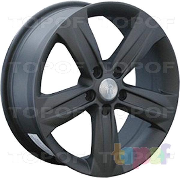 Колесные диски Replay (Replica LS) OPL11. Цвет матовый черный