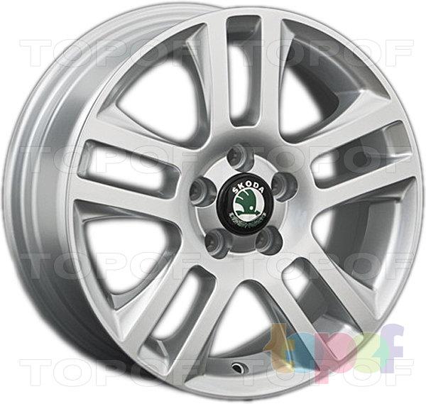 Колесные диски Replay (Replica LS) SK2. Цвет серебряный