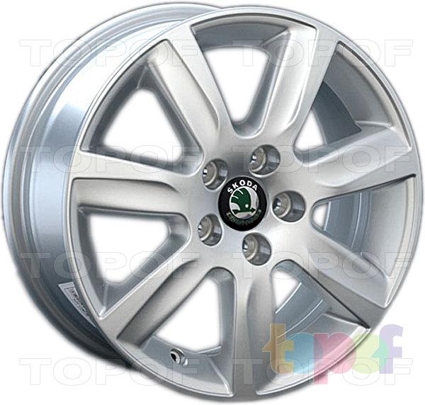 Колесные диски Replay (Replica LS) SK24. Цвет серебряный