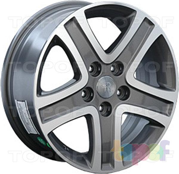 Колесные диски Replay (Replica LS) SZ5. Цвет темно-серый полированный
