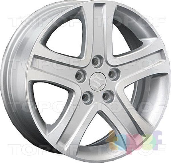 Колесные диски Replay (Replica LS) SZ5. Цвет серебряный